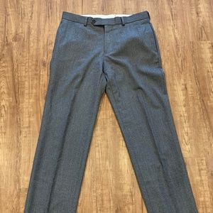Brooks Brothers Slim Fit Wool Trousers- US 32